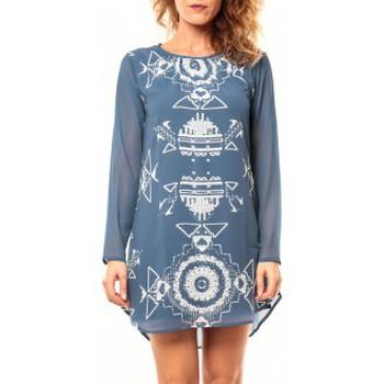 Vêtements Femme Tuniques Coquelicot Tunique CQTW14206 Bleu Bleu