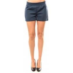 Vêtements Femme Shorts / Bermudas Coquelicot Short CQTW14617 Bleu Bleu