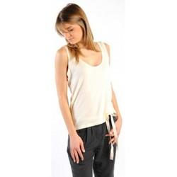 Vêtements Femme Débardeurs / T-shirts sans manche American Vintage DEBARDEUR NOU27 NATUREL Beige
