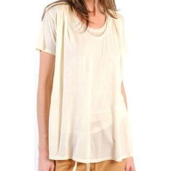 Vêtements Femme T-shirts manches courtes American Vintage TOP BEL20E11 NATUREL Beige