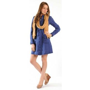 Vêtements Femme Robes courtes Sud Express ROBE ROSINAL OCEAN Bleu