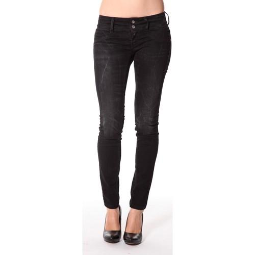 Vêtements Femme Jeans slim Meltin'pot Jeans Maryon D1489-UK010 Noir