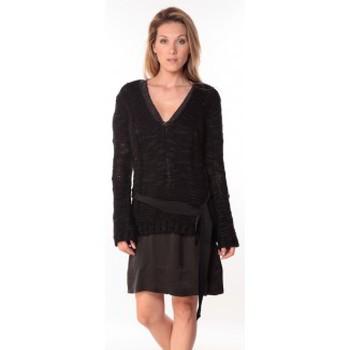 Vêtements Femme Pulls Sack's Pull Military Noir 21190559 Noir