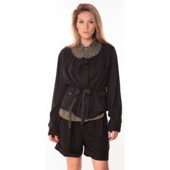 Vestes Sack's Veste Woman Noire 21150088