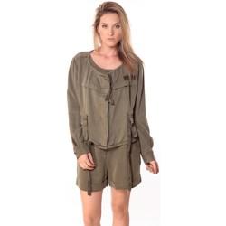 Vêtements Femme Vestes Sack's Veste Woman Kaki 21150088 Vert