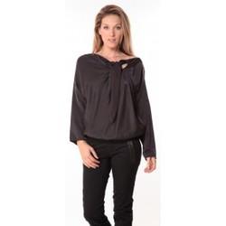 Vêtements Femme Tops / Blouses Sack's Blouse Bow Noire Noir