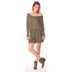 Vêtements Femme Shorts / Bermudas Sack's Short Dean 21115542 Kaki Vert