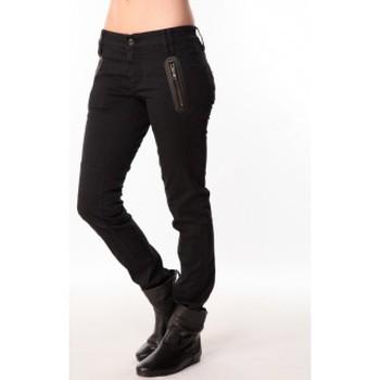 Vêtements Femme Pantalons Sack's Jeans Zip 2111397 Noir Noir