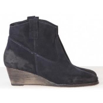 Chaussures Femme Low boots Meline Méliné Boots BZ51 Marine Bleu