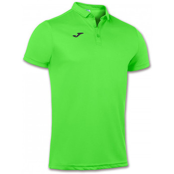 Vêtements Polos manches courtes Joma Hobby m/c Verde flúor