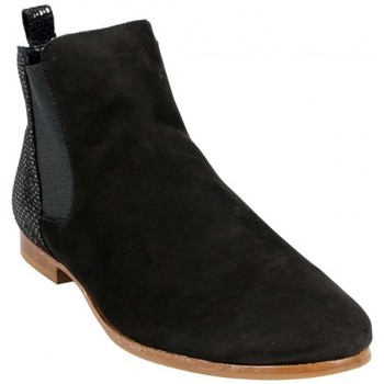 Chaussures Femme Bottines Hirica Bottine Bolivie Noir Noir