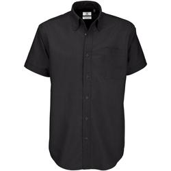 Vêtements Homme Chemises manches courtes B And C SMO02 Noir