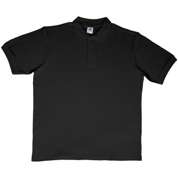 Vêtements Homme Polos manches courtes Sg SG50 Noir