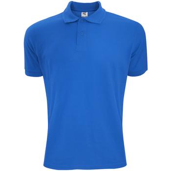 Vêtements Homme Polos manches courtes Sg Polycotton Bleu roi