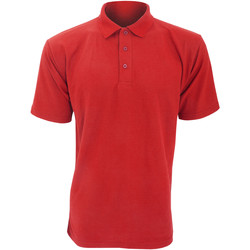 Vêtements Homme Polos manches courtes Ultimate Clothing Collection UCC003 Rouge