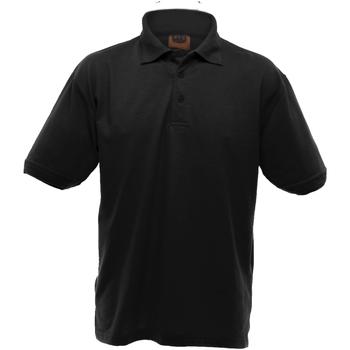 Vêtements Homme Polos manches courtes Ultimate Clothing Collection Pique Noir