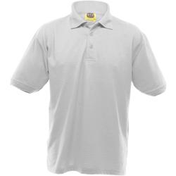 Vêtements Homme Polos manches courtes Ultimate Clothing Collection Pique Blanc