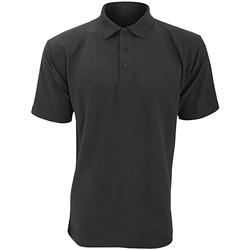 Vêtements Homme Polos manches courtes Ultimate Clothing Collection Pique Gris foncé