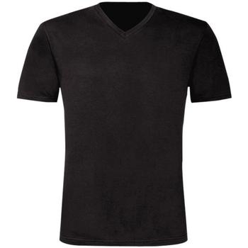 Vêtements Homme T-shirts manches courtes B And C Exact Noir