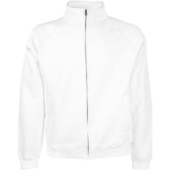 Vêtements Homme Vestes de survêtement Fruit Of The Loom 62230 Blanc