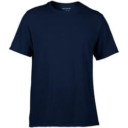 Vêtements Homme T-shirts manches courtes Gildan Performance Bleu marine