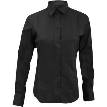 Vêtements Femme Chemises / Chemisiers Kustom Kit KK388 Noir
