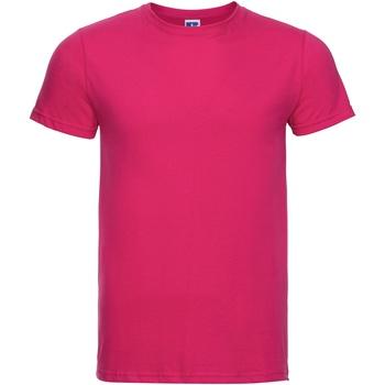 Vêtements Homme T-shirts manches courtes Russell R155M Fuchsia