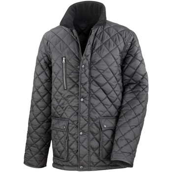 Vêtements Homme Doudounes Result Windproof Noir