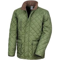 Vêtements Homme Doudounes Result R196X Olive