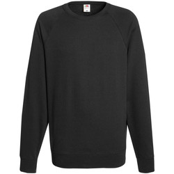 Vêtements Homme Sweats Fruit Of The Loom Raglan Noir