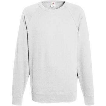 Vêtements Homme Sweats Fruit Of The Loom Raglan Blanc