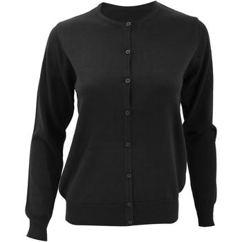 Vêtements Femme Gilets / Cardigans Kustom Kit Knit Noir