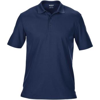 Vêtements Homme Polos manches courtes Gildan Pique Bleu marine