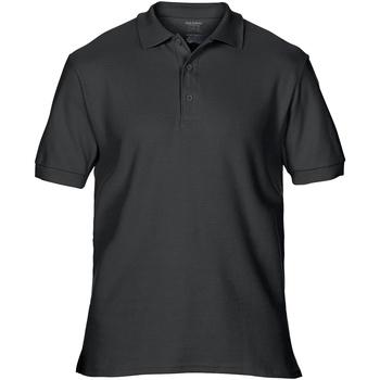 Vêtements Homme Polos manches courtes Gildan Premium Noir