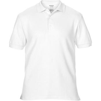 Vêtements Homme Polos manches courtes Gildan Premium Blanc