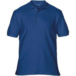Vêtements Homme Polos manches courtes Gildan Premium Bleu marine