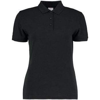 Vêtements Femme Polos manches courtes Kustom Kit Slim Fit Noir