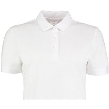 Vêtements Femme Polos manches courtes Kustom Kit Slim Fit Blanc