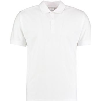 Vêtements Homme Polos manches courtes Kustom Kit KK413 Blanc