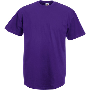 Vêtements Homme T-shirts manches courtes Fruit Of The Loom Valueweight Violet