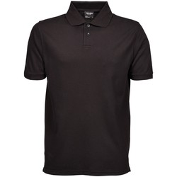 Vêtements Homme Polos manches courtes Tee Jays Pique Noir