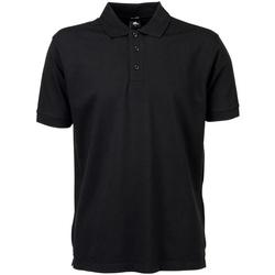 Vêtements Homme Polos manches courtes Tee Jays Stretch Noir