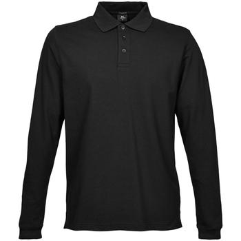 Vêtements Homme Polos manches longues Tee Jays TJ1406 Noir