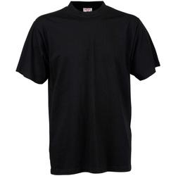 Vêtements Homme T-shirts manches courtes Tee Jays TJ8000 Noir