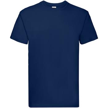 Vêtements Garçon T-shirts manches courtes Fruit Of The Loom Premium Bleu marine