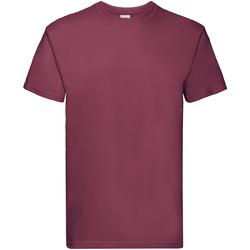 Vêtements Enfant T-shirts manches courtes Fruit Of The Loom Premium Bordeaux