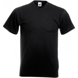 Vêtements Homme T-shirts manches courtes Fruit Of The Loom 61066 Noir