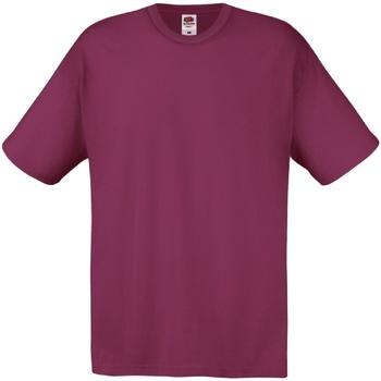 Vêtements Homme T-shirts manches courtes Fruit Of The Loom 61082 Bordeaux