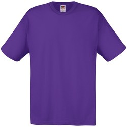 Vêtements Homme T-shirts manches courtes Fruit Of The Loom 61082 Violet