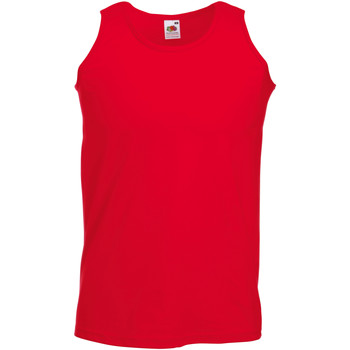 Vêtements Homme Débardeurs / T-shirts sans manche Fruit Of The Loom Athletic Rouge